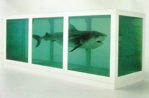 The Physical Impossibility of Death in the Mind of Someone Living, a post on Damien Hirst