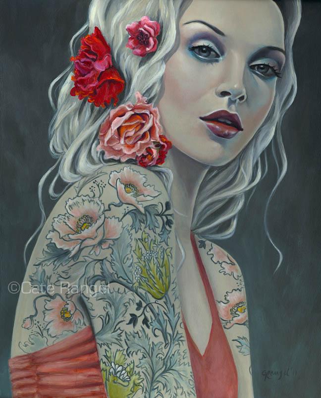 Tattooed ladys by Cate Rangel