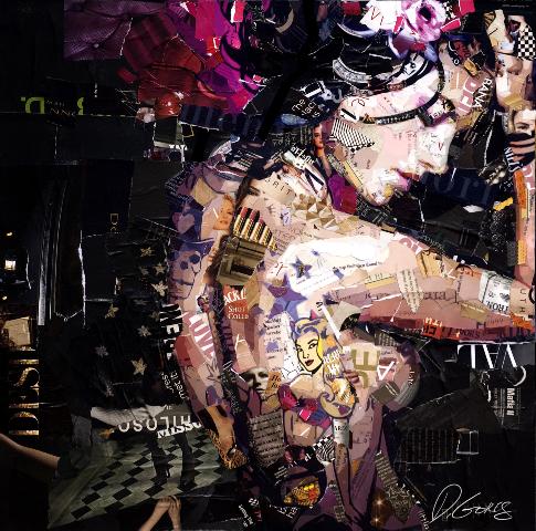 Derek Gores memento mori collage