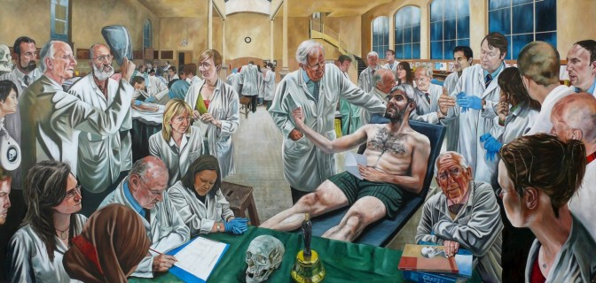 Royal College of Surgeons anatomy teaching immortalised