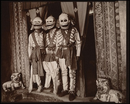 Linda Connor, Death Dancers, Hemis Monastery, Ladakh, Himalayas, Linda Connor, 2003. Photograph: Wellcome Images/The Richard Harris Collection