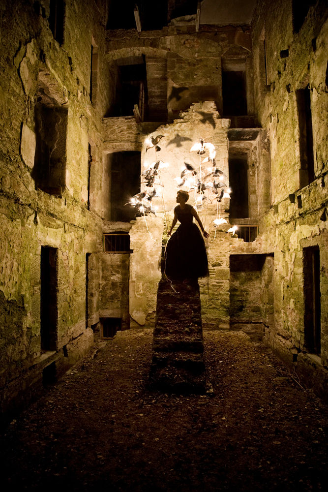 'The Dreamers - Bodmin Jail' Campaign for Alex Randall Bespoke Lighting, UK 2009